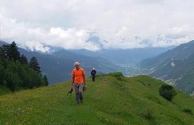 הליכה בהרים וחברינו הפרפרים